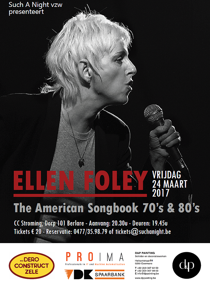 Ellen Foley op Such A Night in Berlare