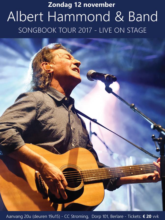 Albert Hammond Songbook Tour 2017