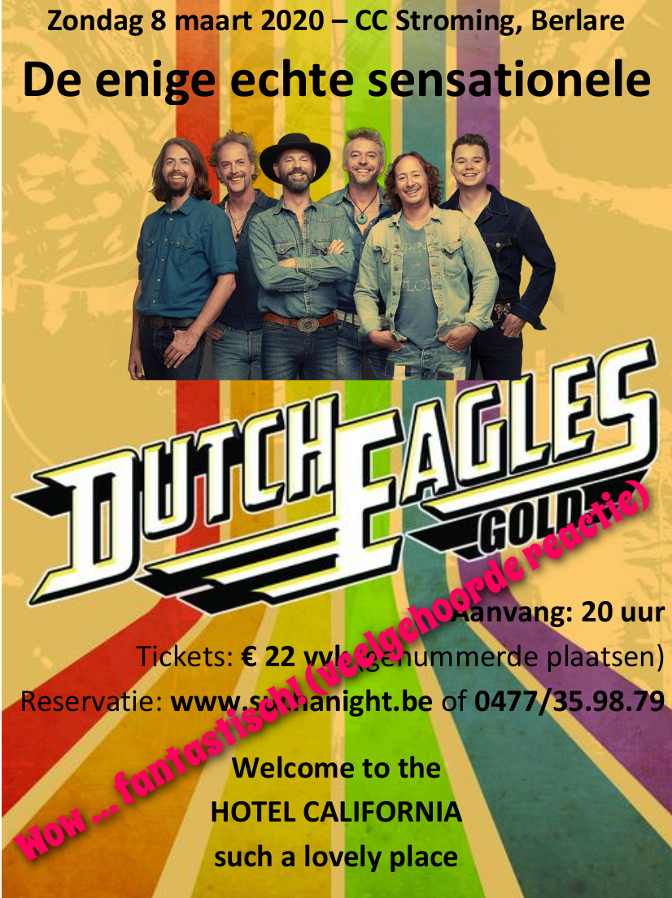 Flyer Dutch Eagles
