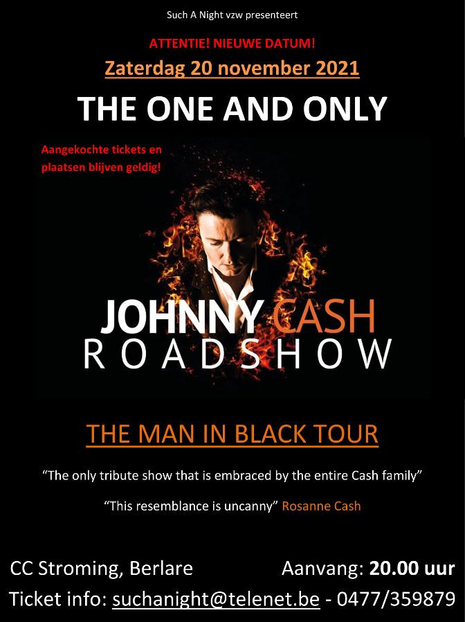 Johnny Cash Road Show bij Such A Night op 20 november.