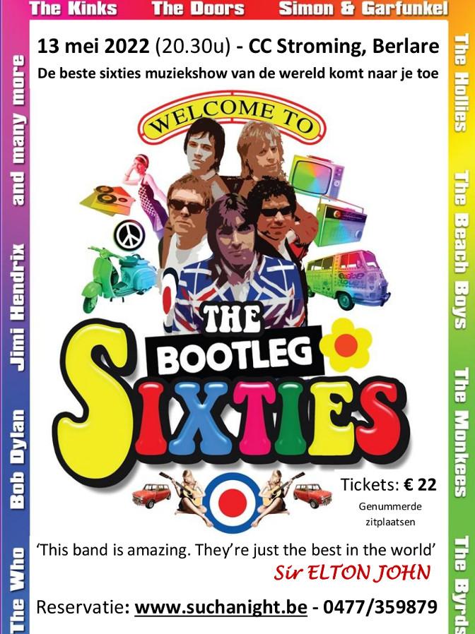 Flyer The Bootleg Sixties